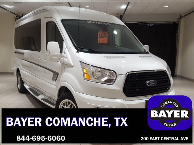 2018 Transit 250 Med Roof 4x2,  Passenger Wagon #F21356 - photo 3