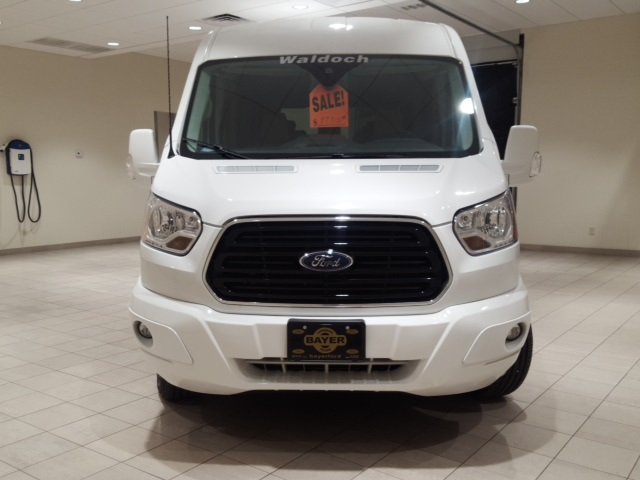 2018 Transit 250 Med Roof 4x2,  Passenger Wagon #F21356 - photo 4