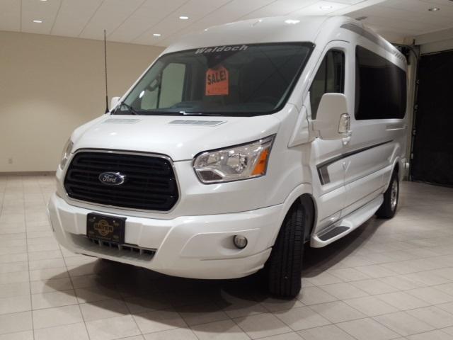 2018 Ford Transit 250 Medium Roof 4x2, Passenger Wagon #F21356 - photo 1