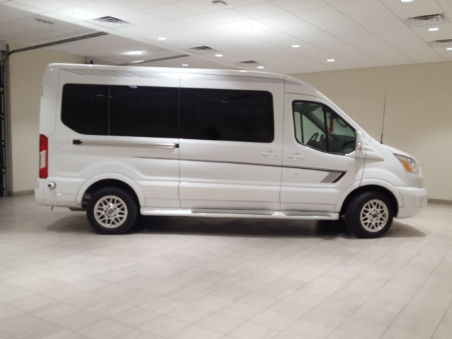 2018 Transit 250 Med Roof 4x2,  Passenger Wagon #F21356 - photo 8