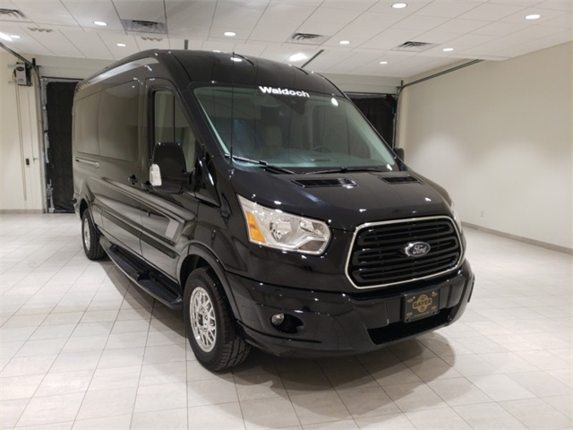 2018 Transit 250 Med Roof 4x2,  Passenger Wagon #F21358 - photo 3