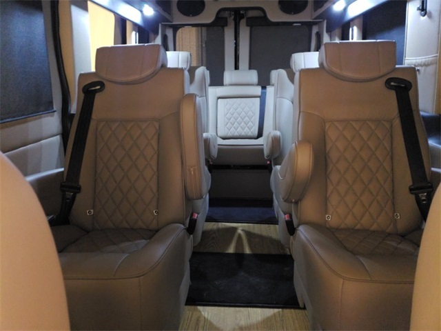 2018 Transit 250 Med Roof 4x2,  Passenger Wagon #F21358 - photo 13