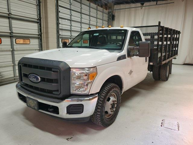 2015 Ford F-350 Regular Cab DRW 4x2, Stake Bed #F23717 - photo 1