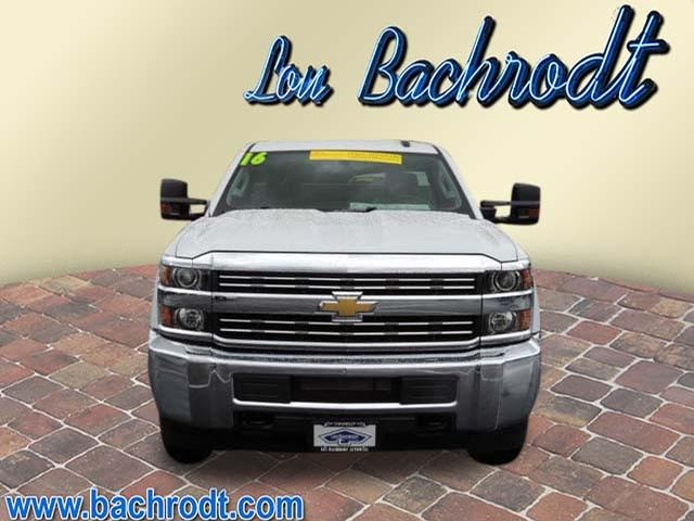 2016 Silverado 2500 Regular Cab 4x4, Service Body #16298 - photo 6