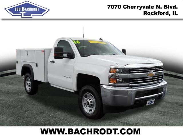 2016 Silverado 2500 Regular Cab 4x4, Service Body #16298 - photo 3