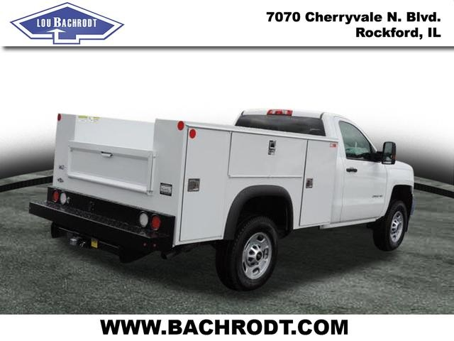 2016 Silverado 2500 Regular Cab 4x4, Service Body #16298 - photo 4