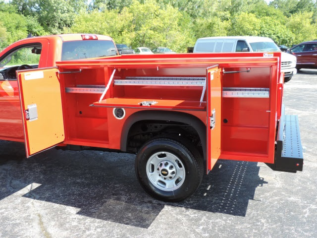 2016 Silverado 2500 Regular Cab, Service Body #16320 - photo 9