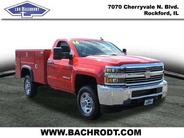 2016 Silverado 2500 Regular Cab, Service Body #16320 - photo 3