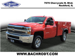 2016 Silverado 2500 Regular Cab, Service Body #16320 - photo 1
