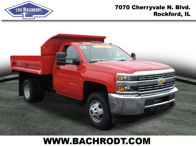 2016 Silverado 3500 Regular Cab 4x4, Dump Body #16357 - photo 3