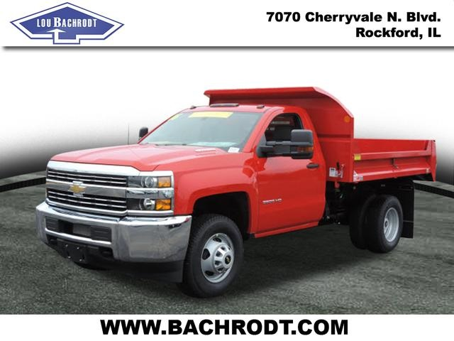 2016 Silverado 3500 Regular Cab 4x4, Dump Body #16357 - photo 1