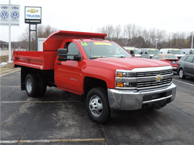 2016 Silverado 3500 Regular Cab 4x4, Dump Body #16357 - photo 6