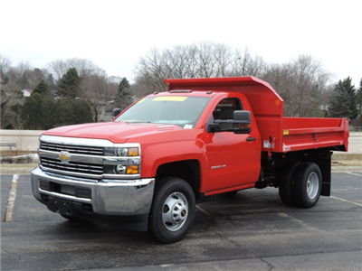 2016 Silverado 3500 Regular Cab 4x4, Dump Body #16357 - photo 2