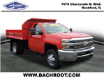 2016 Silverado 3500 Regular Cab 4x4, Dump Body #16357 - photo 5