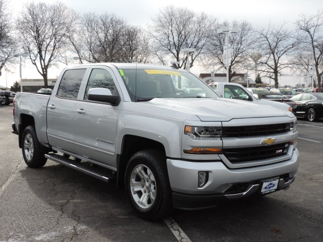 2017 Silverado 1500 Crew Cab 4x4, Pickup #17080 - photo 5