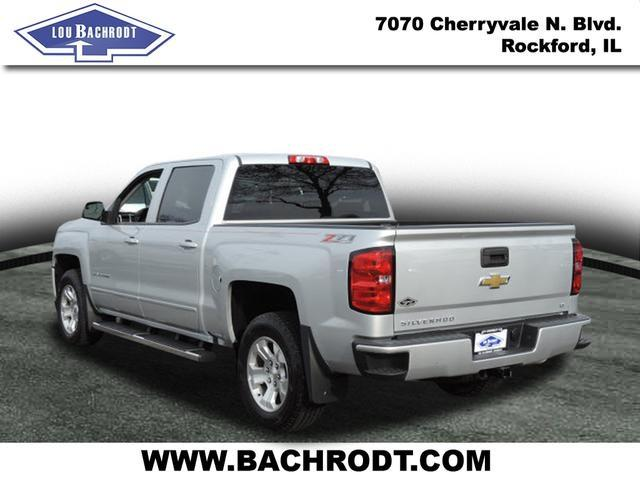 2017 Silverado 1500 Crew Cab 4x4, Pickup #17080 - photo 4