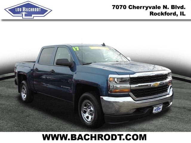 2017 Silverado 1500 Crew Cab 4x4, Pickup #17095 - photo 3