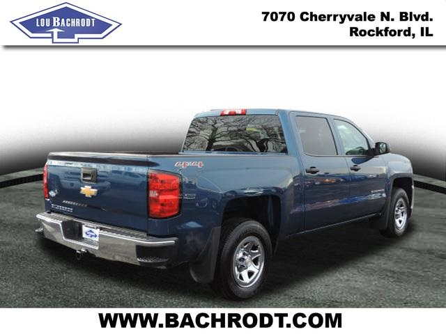 2017 Silverado 1500 Crew Cab 4x4, Pickup #17095 - photo 4