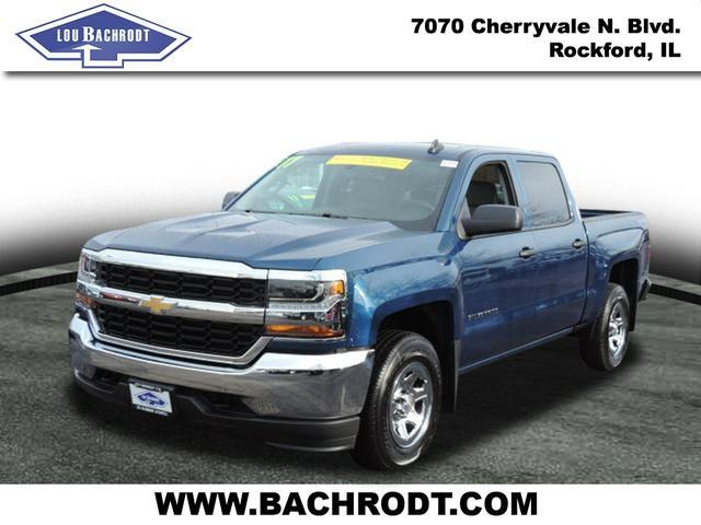 2017 Silverado 1500 Crew Cab 4x4, Pickup #17095 - photo 5