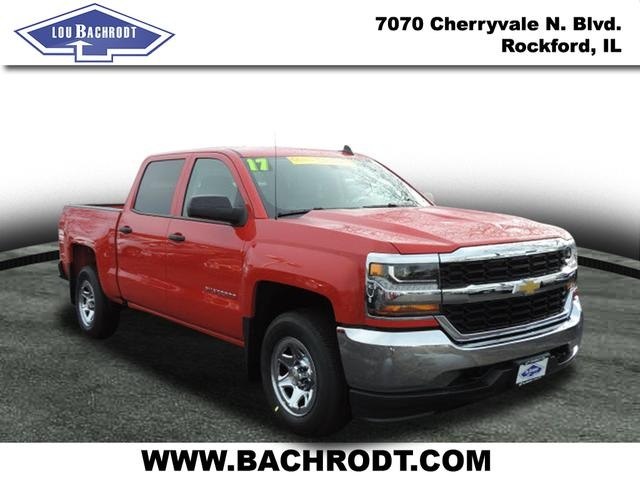 2017 Silverado 1500 Crew Cab 4x4, Pickup #17100 - photo 3