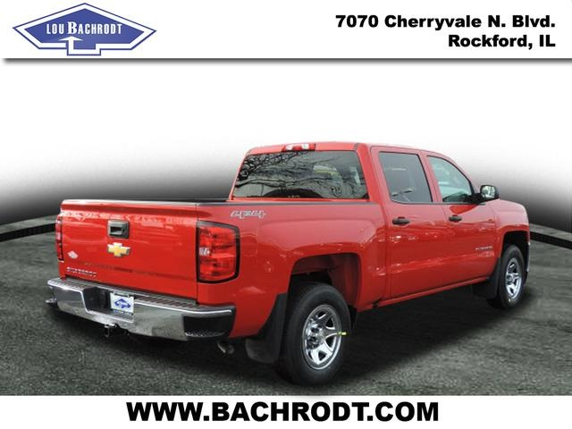 2017 Silverado 1500 Crew Cab 4x4, Pickup #17100 - photo 4
