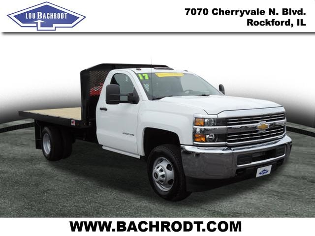 2017 Silverado 3500 Regular Cab, Platform Body #17158 - photo 3