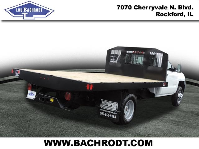 2017 Silverado 3500 Regular Cab DRW, Monroe Platform Body #17158 - photo 4