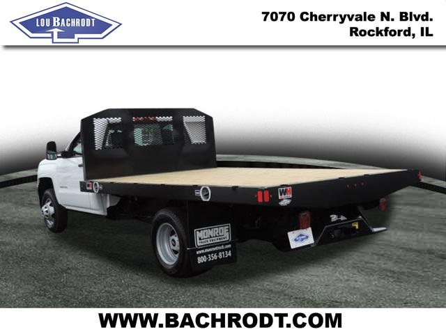 2017 Silverado 3500 Regular Cab DRW, Monroe Platform Body #17158 - photo 2