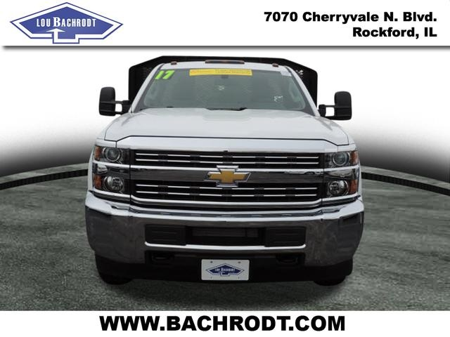 2017 Silverado 3500 Regular Cab DRW, Monroe Platform Body #17158 - photo 6