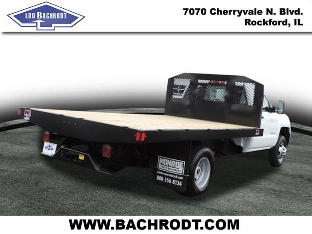 2017 Silverado 3500 Regular Cab, Platform Body #17158 - photo 2