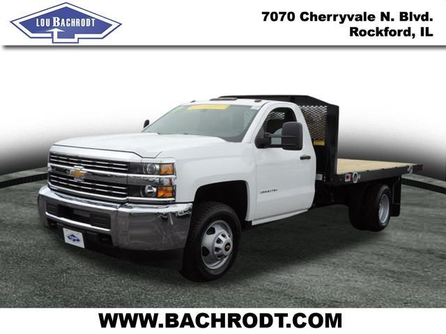 2017 Silverado 3500 Regular Cab, Platform Body #17158 - photo 5