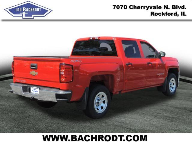 2017 Silverado 1500 Crew Cab 4x4, Pickup #17219 - photo 4