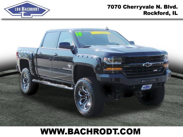 2018 Silverado 1500 Crew Cab 4x4 Pickup #18040 - photo 1