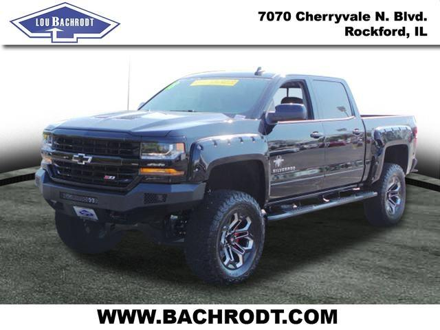 2018 Silverado 1500 Crew Cab 4x4, Pickup #18040 - photo 5