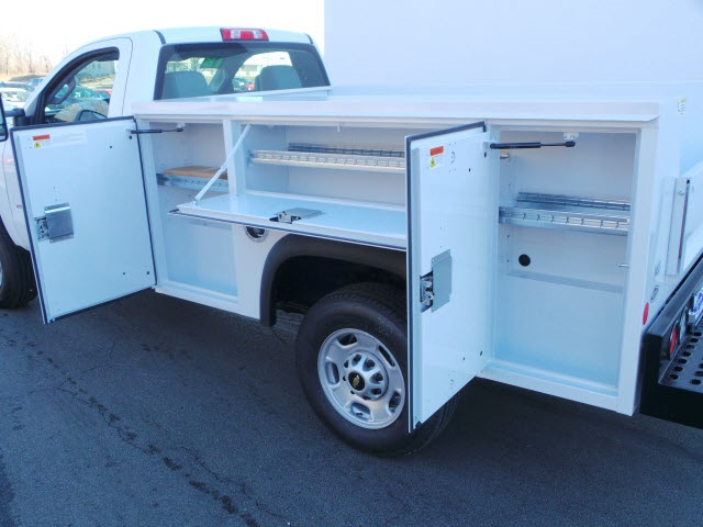 2018 Silverado 2500 Regular Cab 4x4,  Monroe Service Body #18064 - photo 10