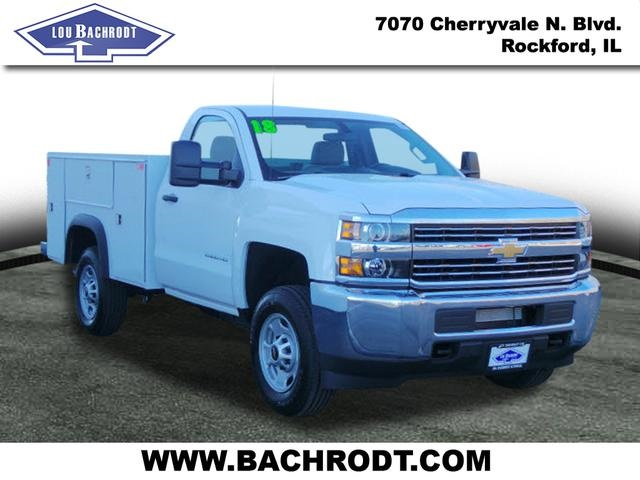 2018 Silverado 2500 Regular Cab 4x4,  Monroe Service Body #18064 - photo 3