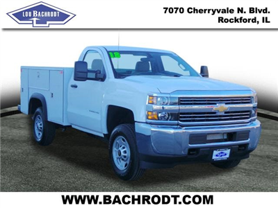 2018 Silverado 2500 Regular Cab 4x4, Monroe MSS II Service Body Service Body #18064 - photo 3