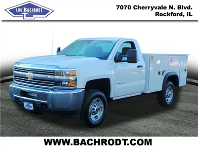 2018 Silverado 2500 Regular Cab 4x4, Monroe MSS II Service Body Service Body #18064 - photo 1