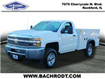 2018 Silverado 2500 Regular Cab 4x4,  Monroe Service Body #18064 - photo 1