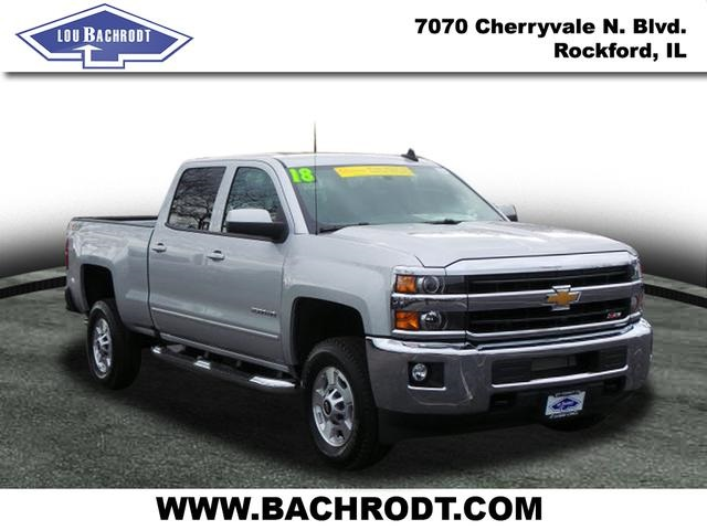 2018 Silverado 2500 Crew Cab 4x4 Pickup #18071 - photo 3