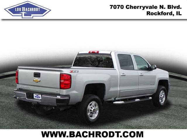 2018 Silverado 2500 Crew Cab 4x4 Pickup #18071 - photo 4