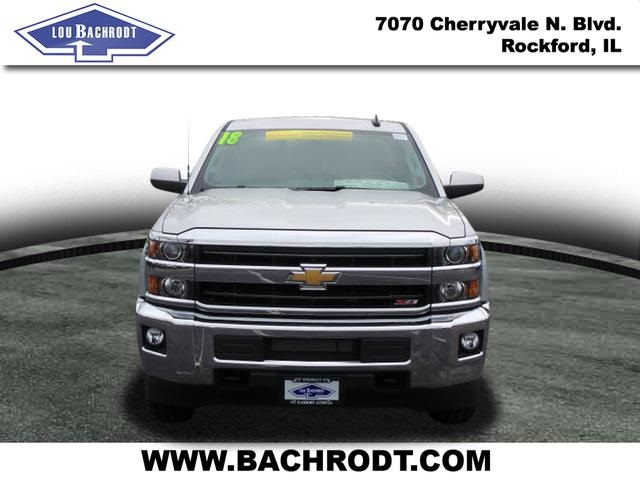2018 Silverado 2500 Crew Cab 4x4 Pickup #18071 - photo 6