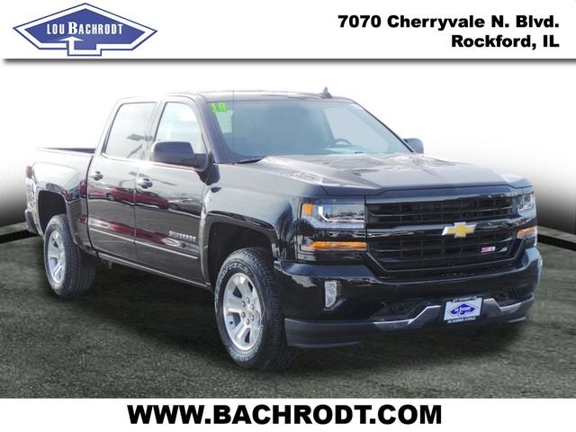 2018 Silverado 1500 Crew Cab 4x4, Pickup #18085 - photo 3