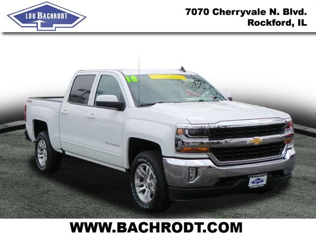 2018 Silverado 1500 Crew Cab 4x4 Pickup #18095 - photo 3