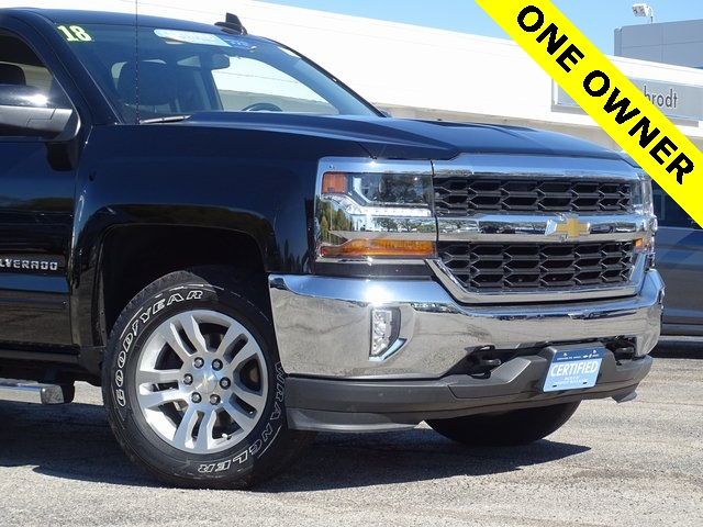2018 Silverado 1500 Extended Cab 4x4 Pickup #18114 - photo 4