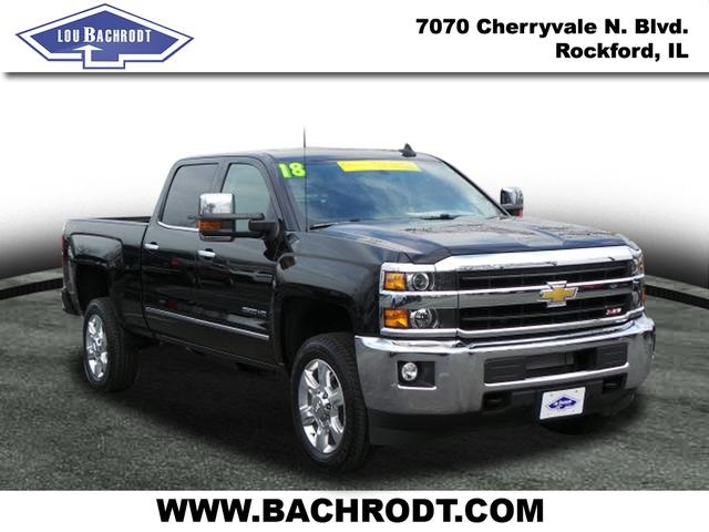 2018 Silverado 2500 Crew Cab 4x4 Pickup #18120 - photo 3