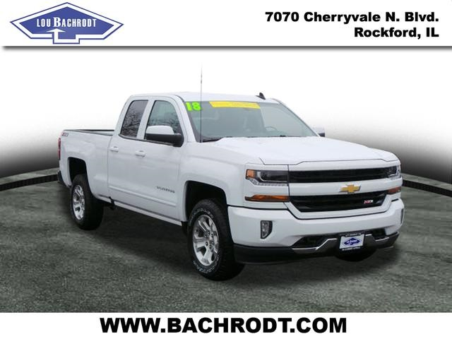 2018 Silverado 1500 Double Cab 4x4, Pickup #18179 - photo 3