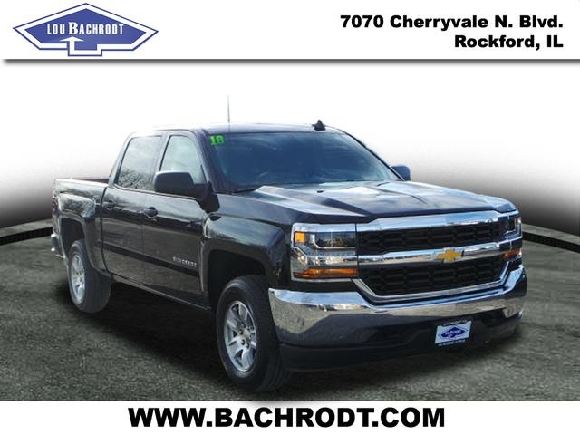 2018 Silverado 1500 Crew Cab 4x4, Pickup #18185 - photo 3