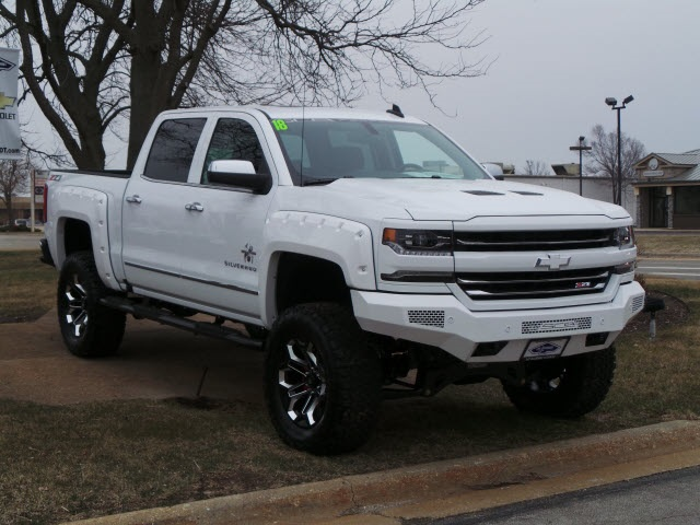 2018 Silverado 1500 Crew Cab 4x4,  Pickup #18215 - photo 9