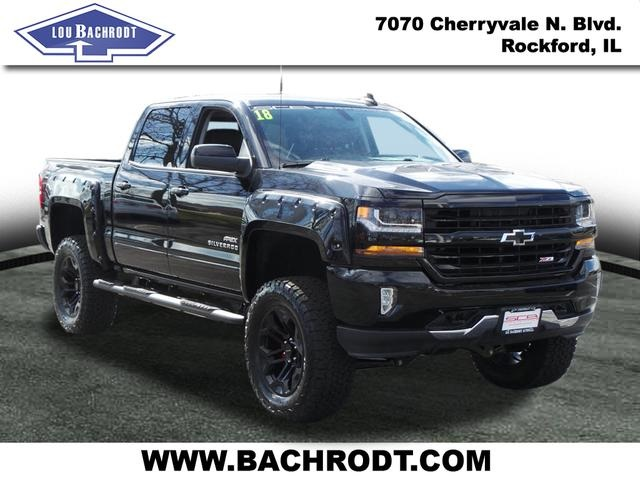 2018 Silverado 1500 Crew Cab 4x4,  Pickup #18222 - photo 3